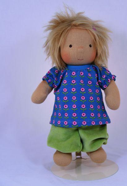 Puppe Bub (Bio-Stoff,handgefertigt)