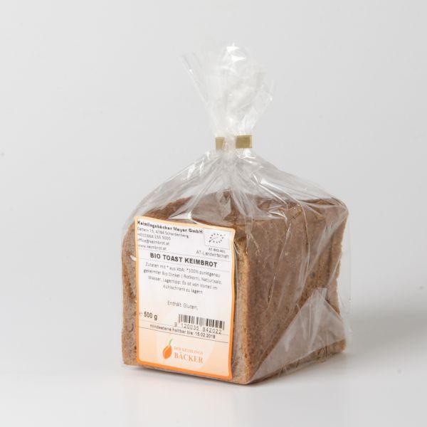 Toast Keimbrot (Dinkel)