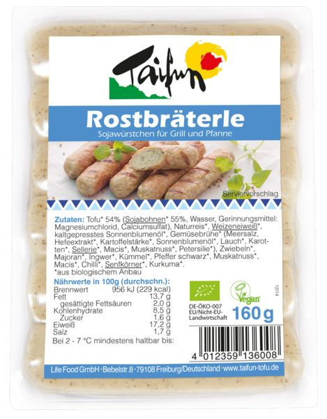 Tofu Rostbräterle
