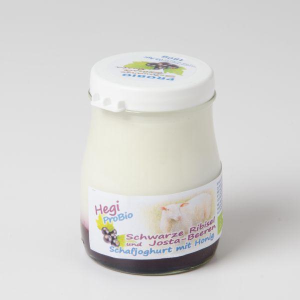Schafjoghurt probio - Schwarze Ribisel-Jostabeere
