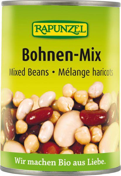 Bohnen-Mix gekocht