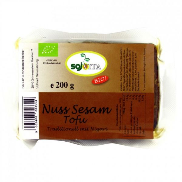 Tofu Nuss-Sesam (geräuchert)