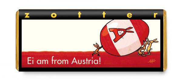 Ei am from Austria (Eierlikör & Mandelnougat)