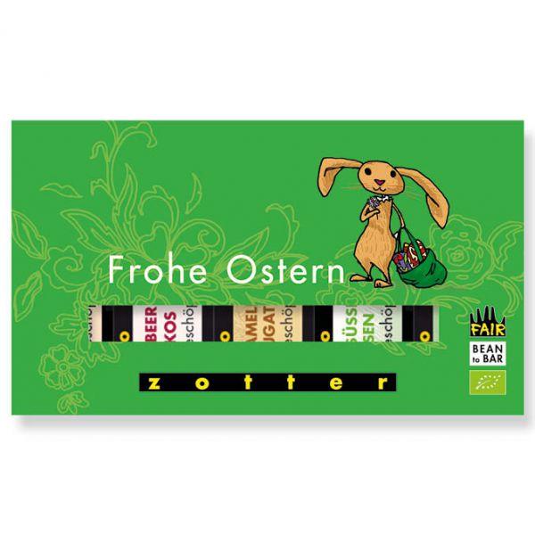 """Schoko-Minis """"Frohe Ostern"""" 5er-Set"""