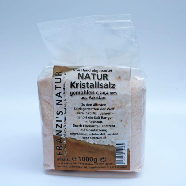 Kristallsalz rosa gemahlen 0,2-0,4 mm