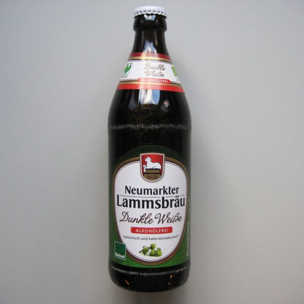 Neumarkter Lammsbräu Dunkle Weisse alkoholfrei
