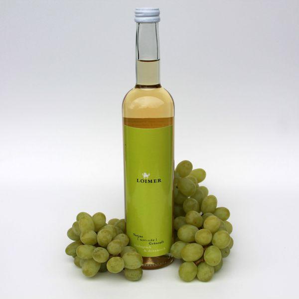 Verjus Traubengrünsaft